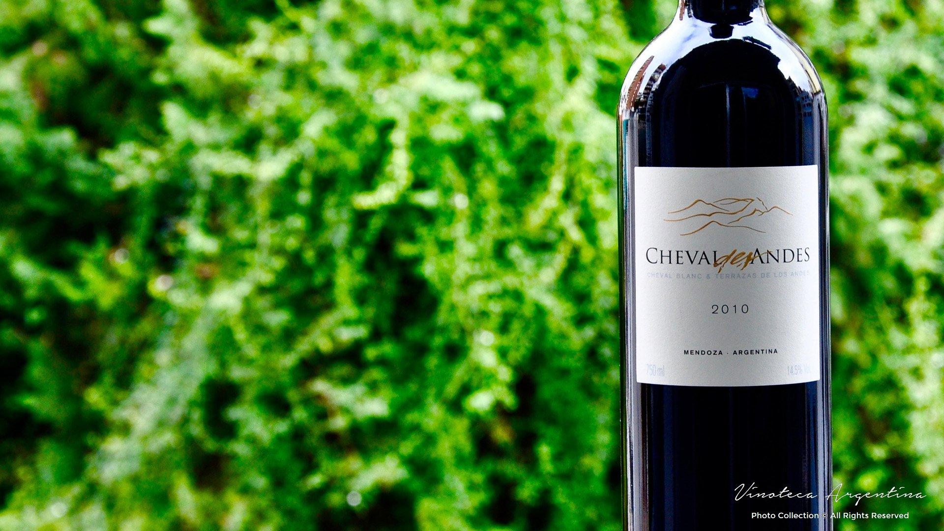 Cheval Des Andes 2010 Vinoteca Argentina